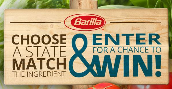 barilla spring sweepstakes