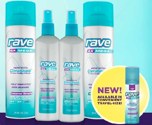 free rave hair spray