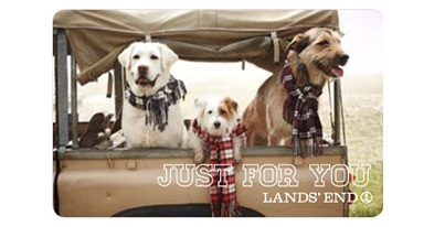 lands' end gift card sweepstakes