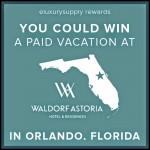 Waldorf Astoria eLuxurySupply Rewards
